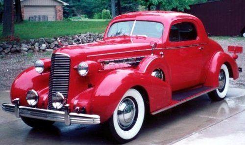 Cadillac model history - 1936