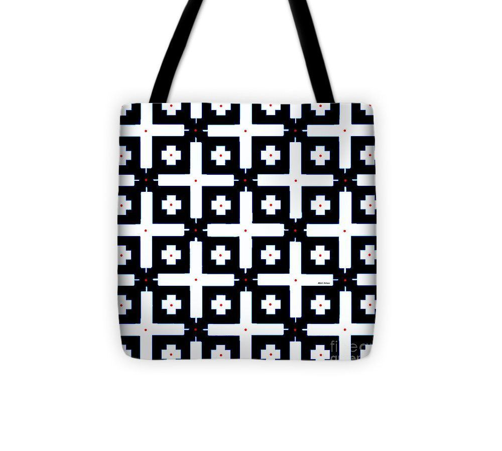 Tote Bag - Geometric In Black And White