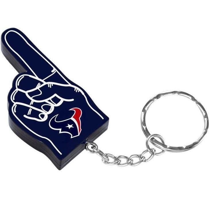 Houston Texans NFL #1 Finger Keychain