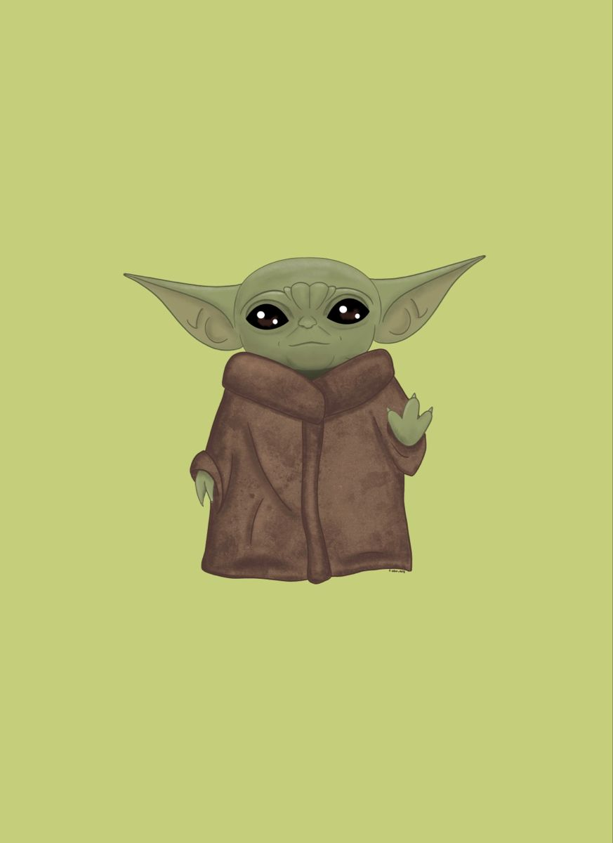 Star Wars The Mandalorian Baby Yoda Wallpaper Background Yoda Wallpaper Star Wars Wallpaper Yoda Art