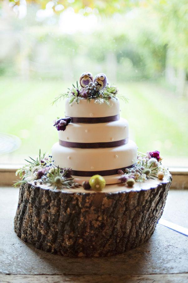 The Tythe Barn Wedding Cake