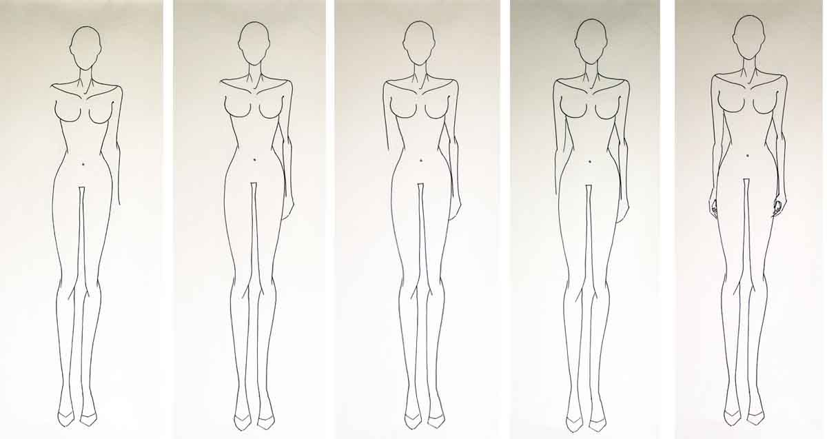 Fashion Figure Drawing Without Guidelines Fashion Design For Beginners Step 3 Fashion Figure Drawing Figure Sketching Fashion Figures