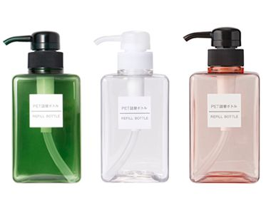 Muji Refillable Soap Dispensers To Use For My Paula S Choice