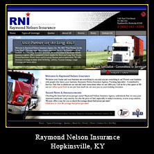 My Web Design Clients Raymond Nelson Insurance Hopkinsville