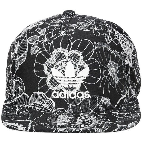 Adidas Originals By Farm Women Floral Printed Baseball Hat ( 39) ❤ liked on  Polyvore 647070f3d5