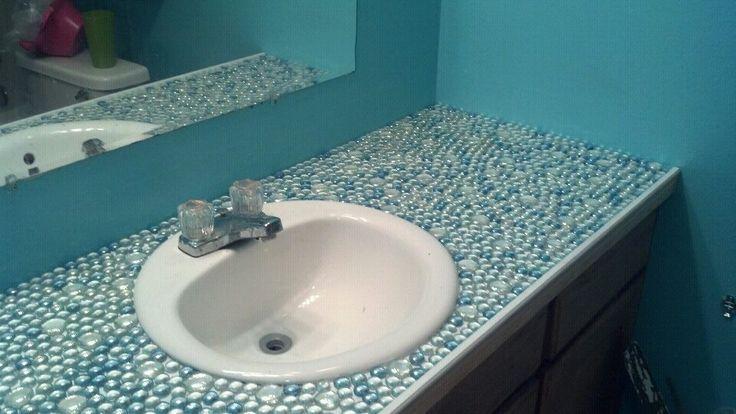 30 Pictures Of Mosaic Tile Countertop Bathroom Diy Countertops
