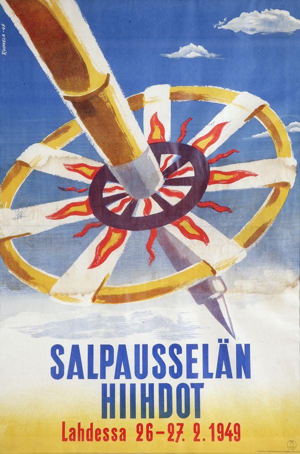 Salpausselän Hiihdot Lahdessa 26-27.2.1949