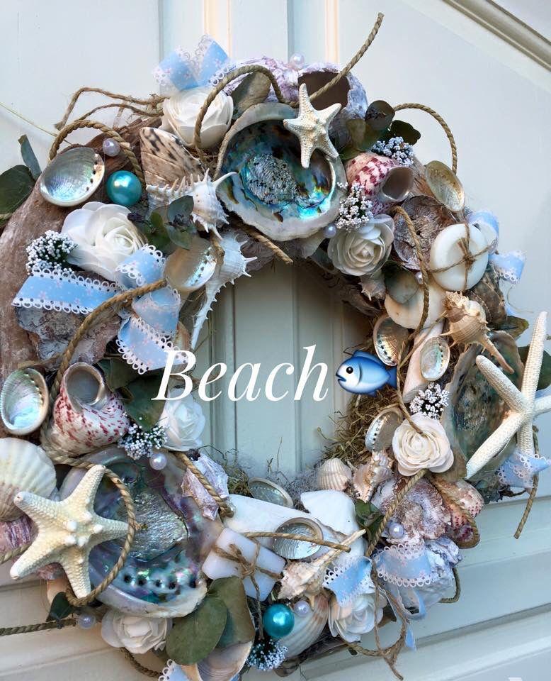 Do It Yourself Home Design: Seashell Wreath, Driftwood