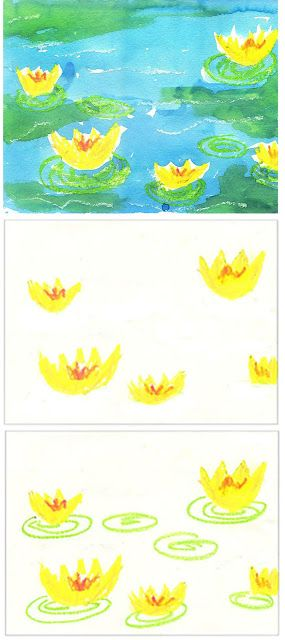 Art Projects for Kids: Monet's Water Lilies