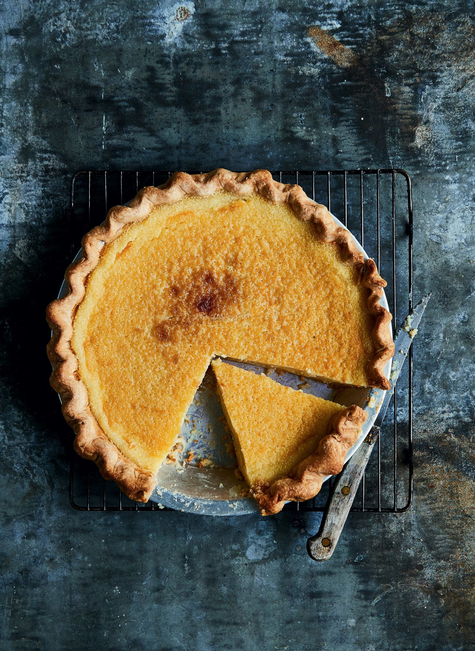 Southern Classic With A Twist Sweet Tea Buttermilk Pie