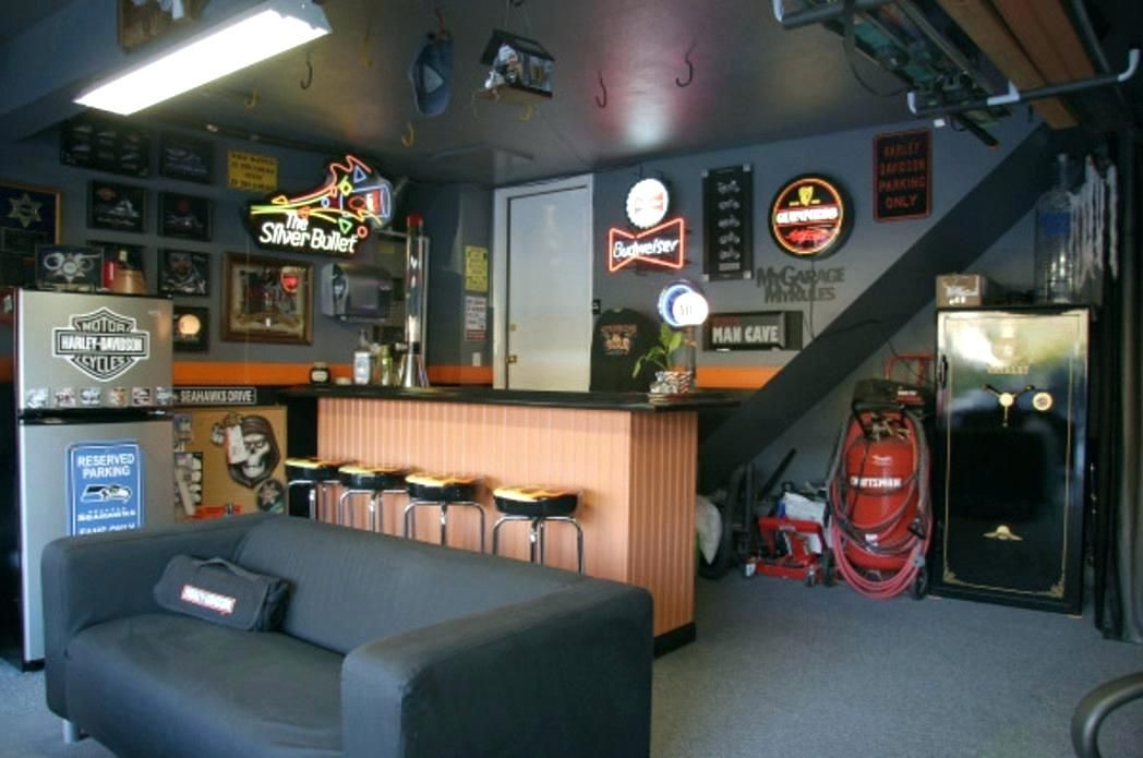 Image result for garage man cave | Apartment | Pinterest | Man Cave on home ice cream parlor designs, home brewery designs, home salon designs, home shop designs, home outdoor patio designs, home grill designs, home room designs, home bar designs,