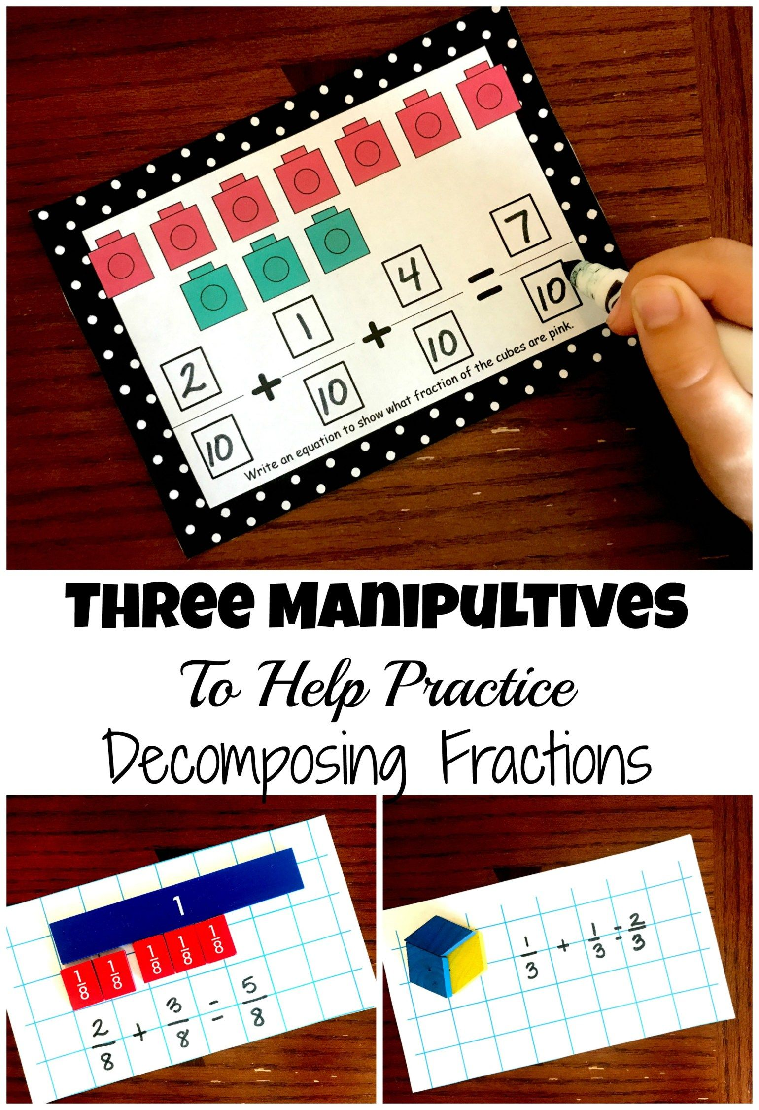 Three Manipultives To Use When Teaching Decomposing