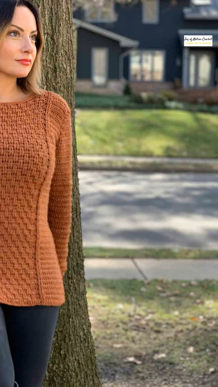 Photo of Basketweave Pullover – FREE Crochet Pattern