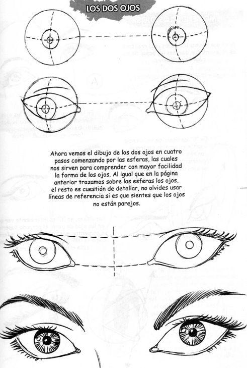Resultado de imagen para Cómo dibujar un ojo | ilustracion ...