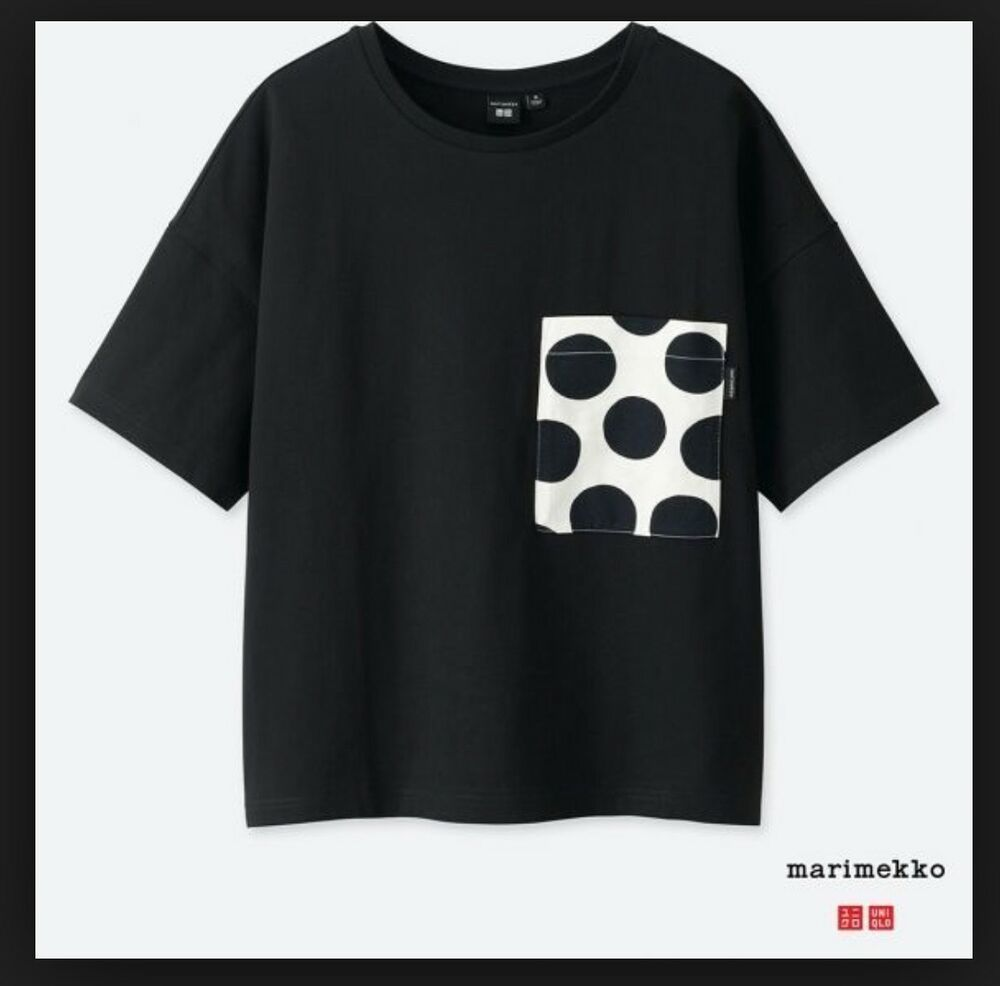 68a9a97c NWT UNIQLO MARIMEKKO Graphic BLACK DOTS | XL Women Short Sleeve T-shirt  JAPAN #fashion #clothing #shoes #accessories #womensclothing #tops (ebay  link)