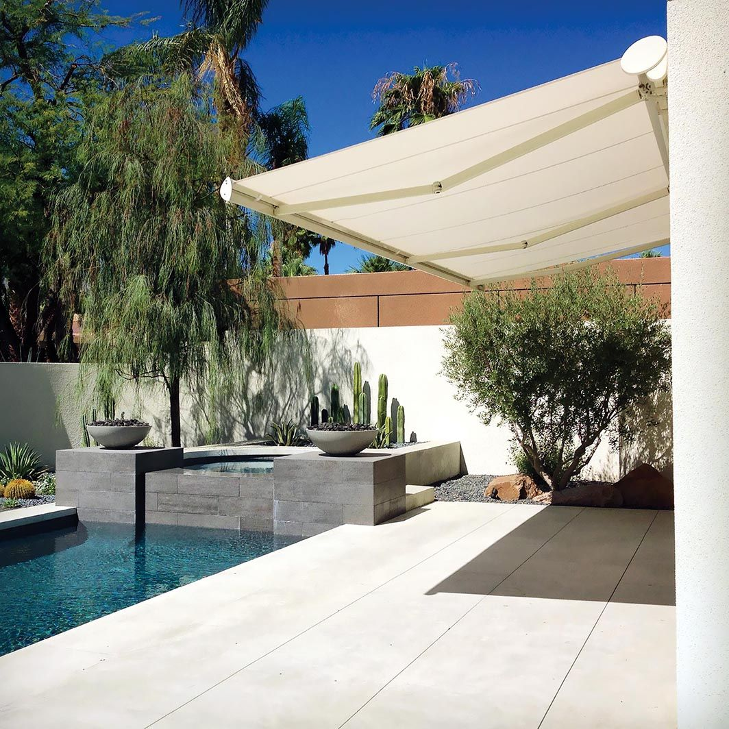 This Fully Motorized G250 Retractable Awning By Nuimage Pro Features