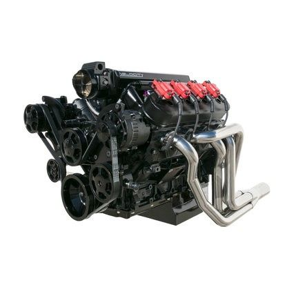 Black Ls1 Ls2 Ls6 Front Drive Serpentine Pulley Kit Gm Chevrolet