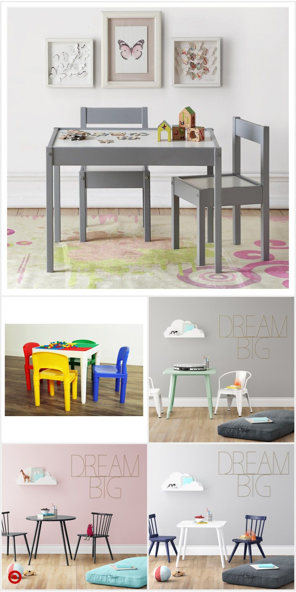 Shop Target For Kids Table You Will Love At Great Low Prices Free Shipping On Orders Of 35 Or Free Same Day Toddler Table And Chairs Toddler Table Kid Table