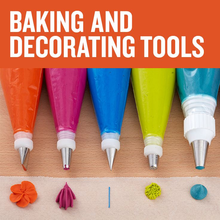 Find the essential baking and decorating tools you need to ...