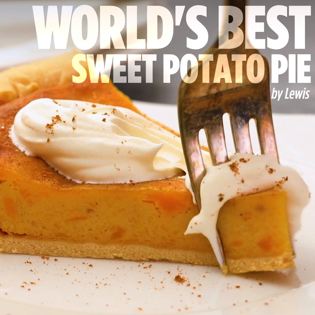 World's Best Sweet Potato Pie
