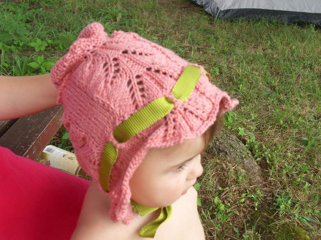 Free knitting pattern for victorian style lace baby bonnet and free knitting pattern for victorian style lace baby bonnet and more free baby hat knitting patterns bankloansurffo Image collections
