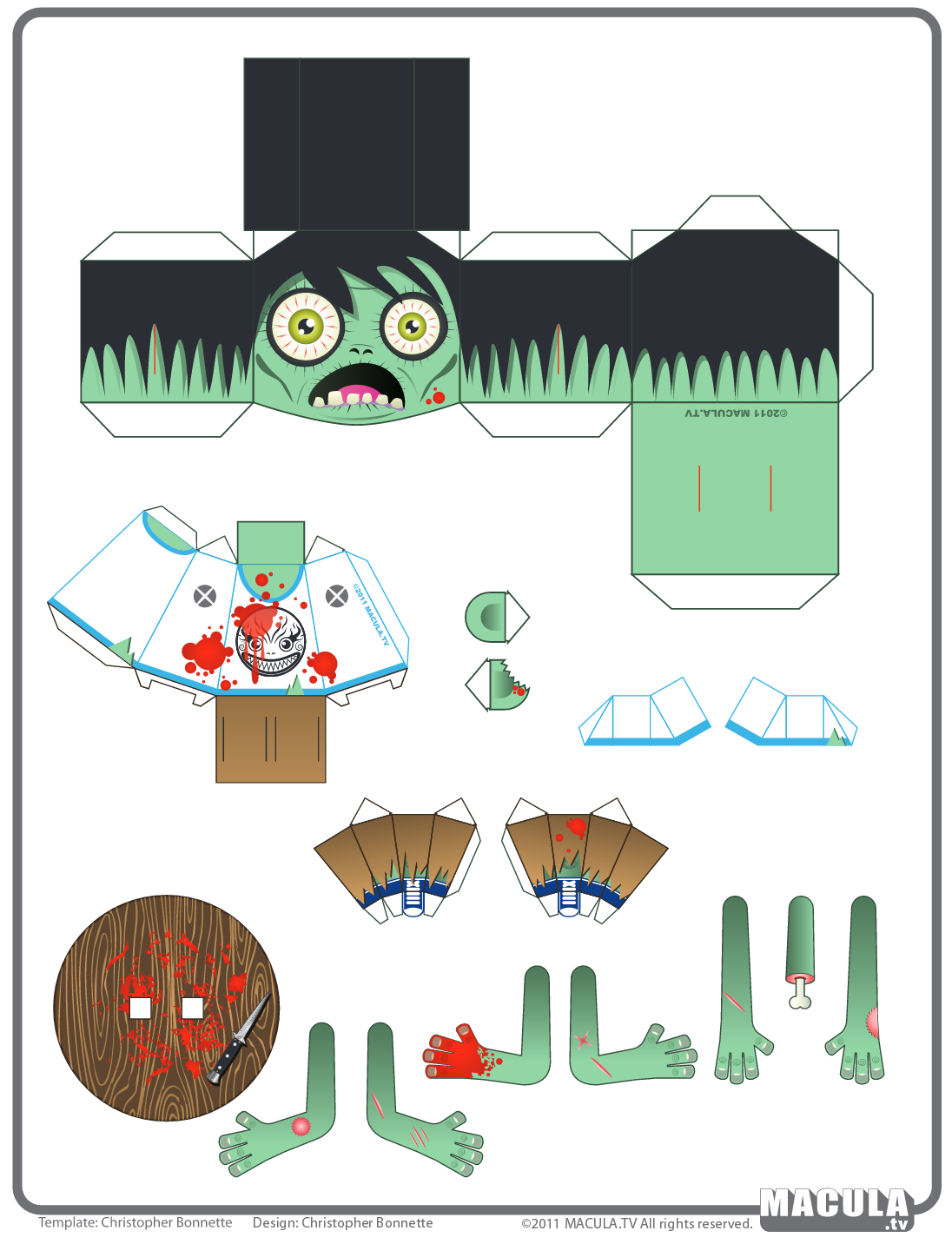 Pin by crafty annabelle on zombies printables pinterest paper paper puppets paper toys halloween paper crafts mini craft plants vs zombies printable paper free printable paper models origami paper jeuxipadfo Images