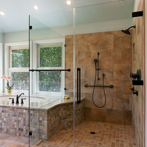 Handicapped Accessible Shower Home Design Ideas, Pictures