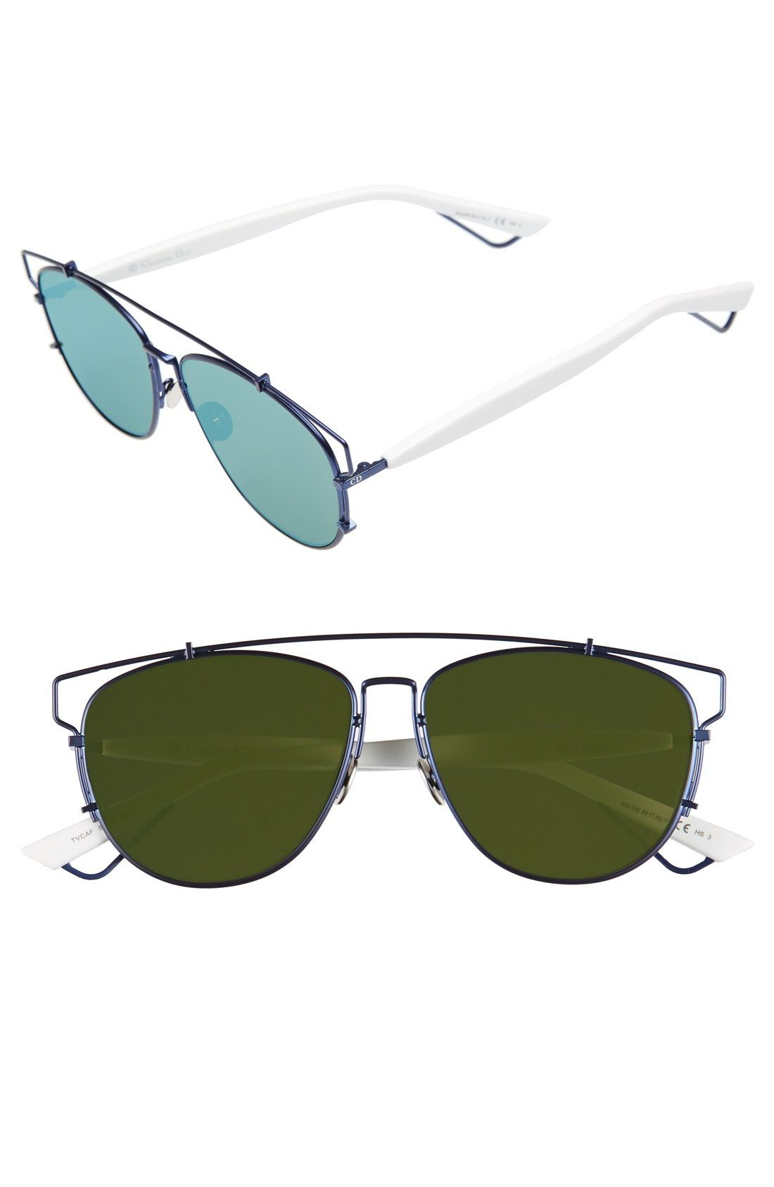 Dior  Technos  57mm Sunglasses available at  Nordstrom   Sunglasses ... 761b8aeefd88