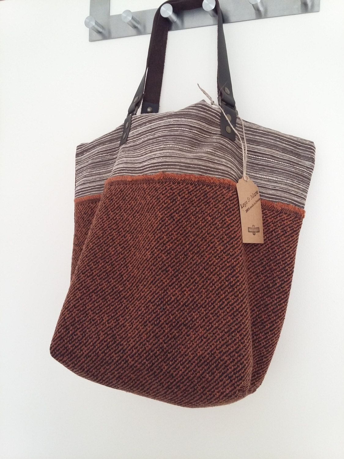 Sac Cabas Armelle Sac Reversible Grand Sac Sac Fourre Tout Sac A Main Sac A Offrir Tote Bag Hobo Bag Anses En Cui Sewing Leather Tote Bag Leather Handle