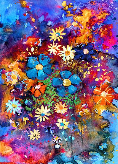 painting flowers - Google zoeken