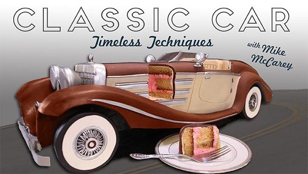 Car Cake Tutorial Vintage Car By Mike Mccarey On Craftsy For The