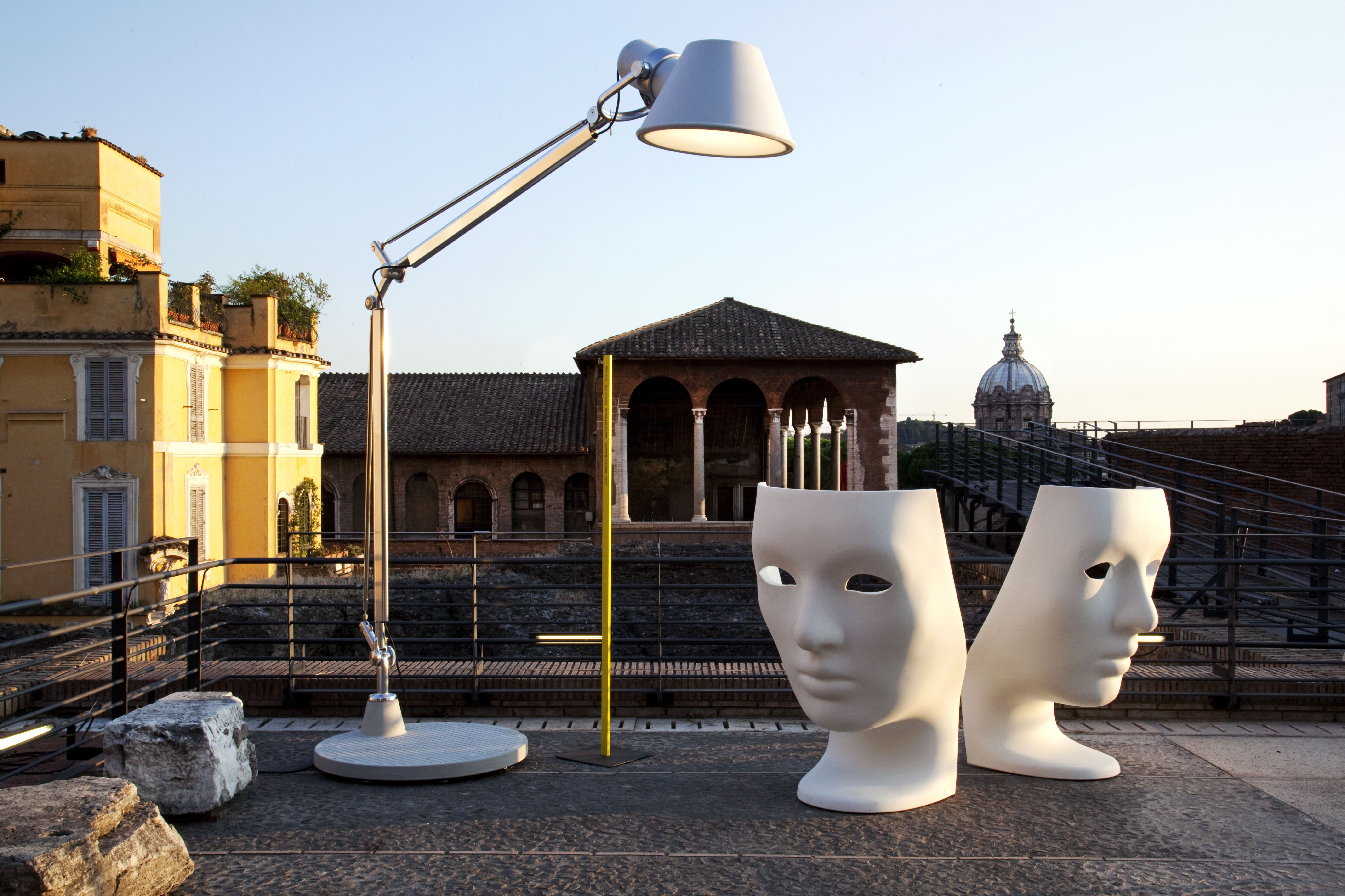 The larger than life tolomeo xxl by artemide available from tolomeo xxl floor lamp from artemide workwithnaturefo