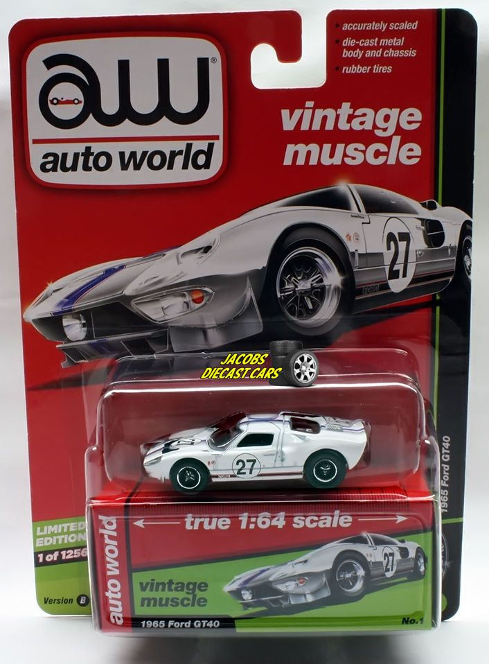 1 64 Auto World Premium 2017 R2b 1965 Ford Gt40 Perfect For Dioramas Autoworld Ford Ford Gt40 Gt40 Ford