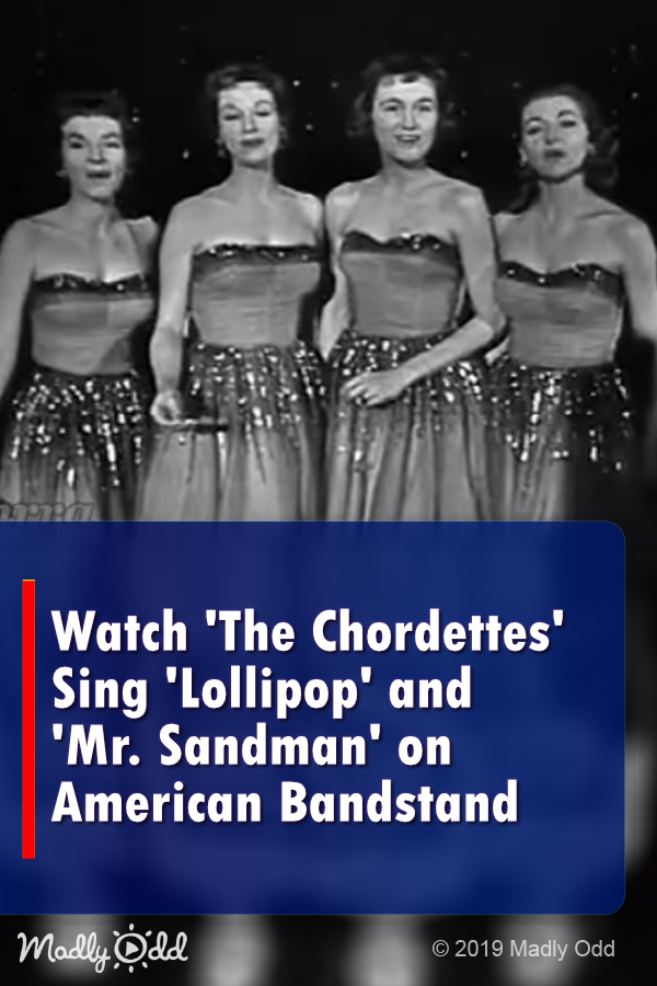 Watch 'The Chordettes' Sing 'Lollipop' and 'Mr  Sandman' on American