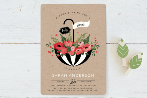 Planning A French Baby Shower Baby Shower Invitations