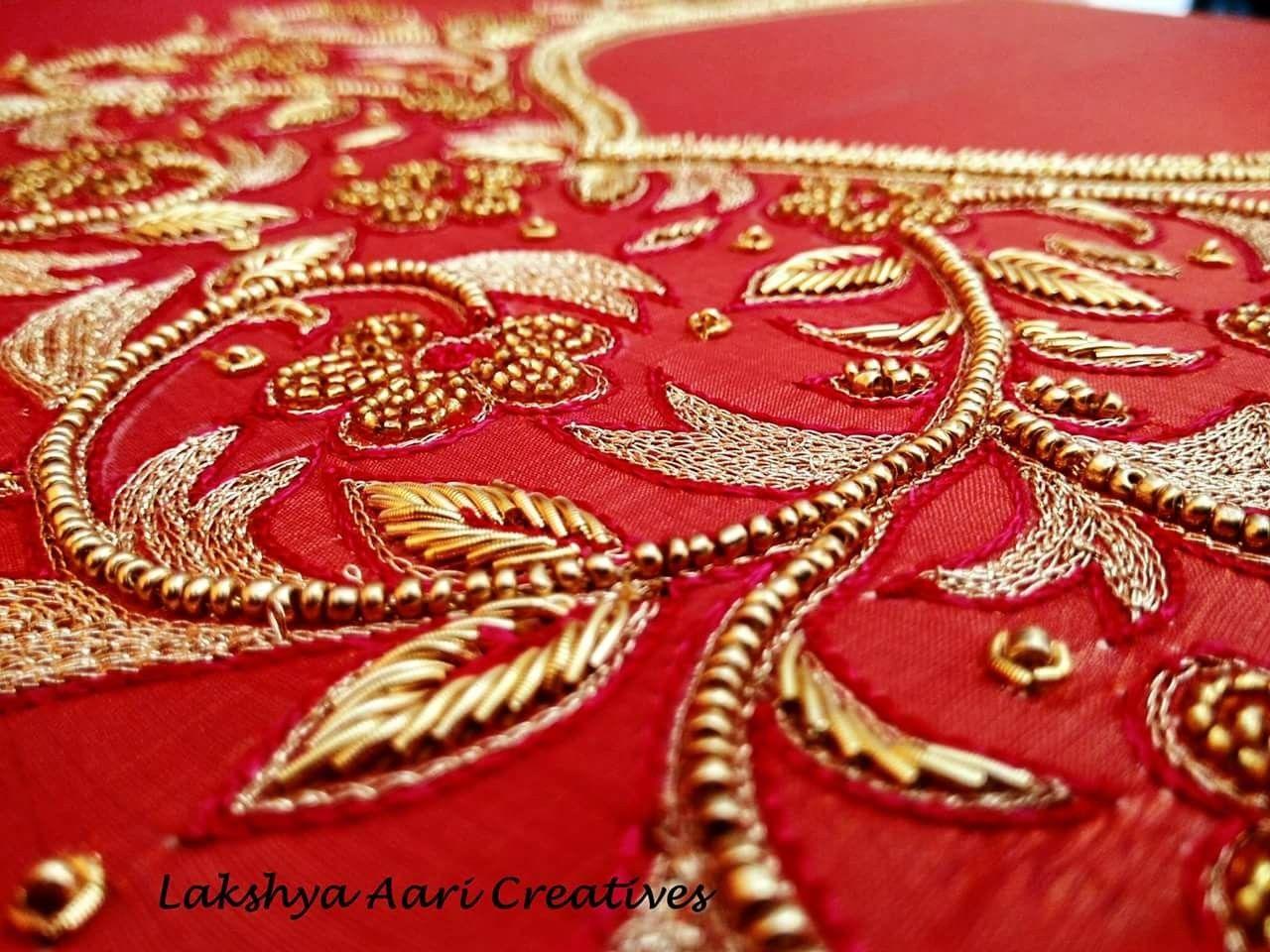 2fbc25456e7a8 Wild branches of Beads  amp  Zardosi~ Lakshya Aari Creatives  -) Contact