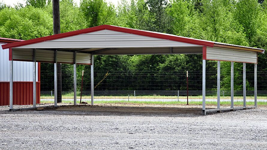 1 Carport Dealer Garages, Carports, Loafing Sheds
