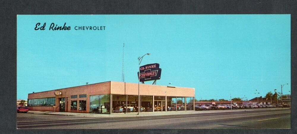 Ed Rinke Chevrolet Dealership, Center Line, Michigan (With