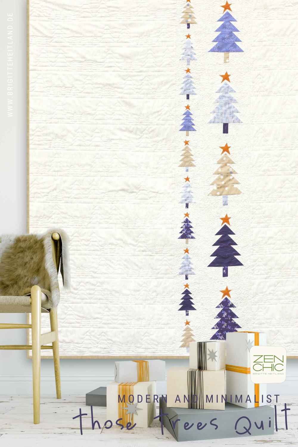 Those Trees Modern Christmas Quilt By Zen Chic In 2020 Modern Christmas Quilt Christmas Sewing Patterns Christmas Quilt Patterns