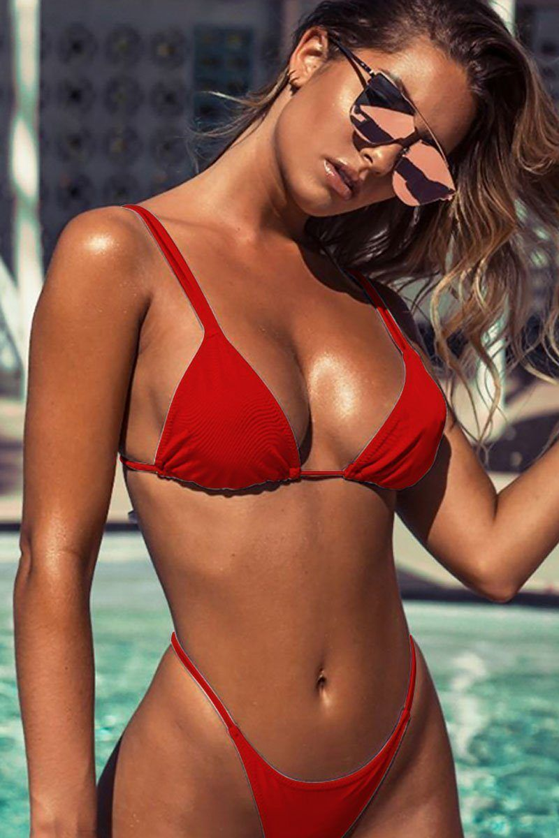 Beautiful 2018 New Sweet Women/girls Candy Color One-piece Swimsits Deep V Padded Bra Sexy Women Swimweear Bandage Bathing Suits Sports & Entertainment