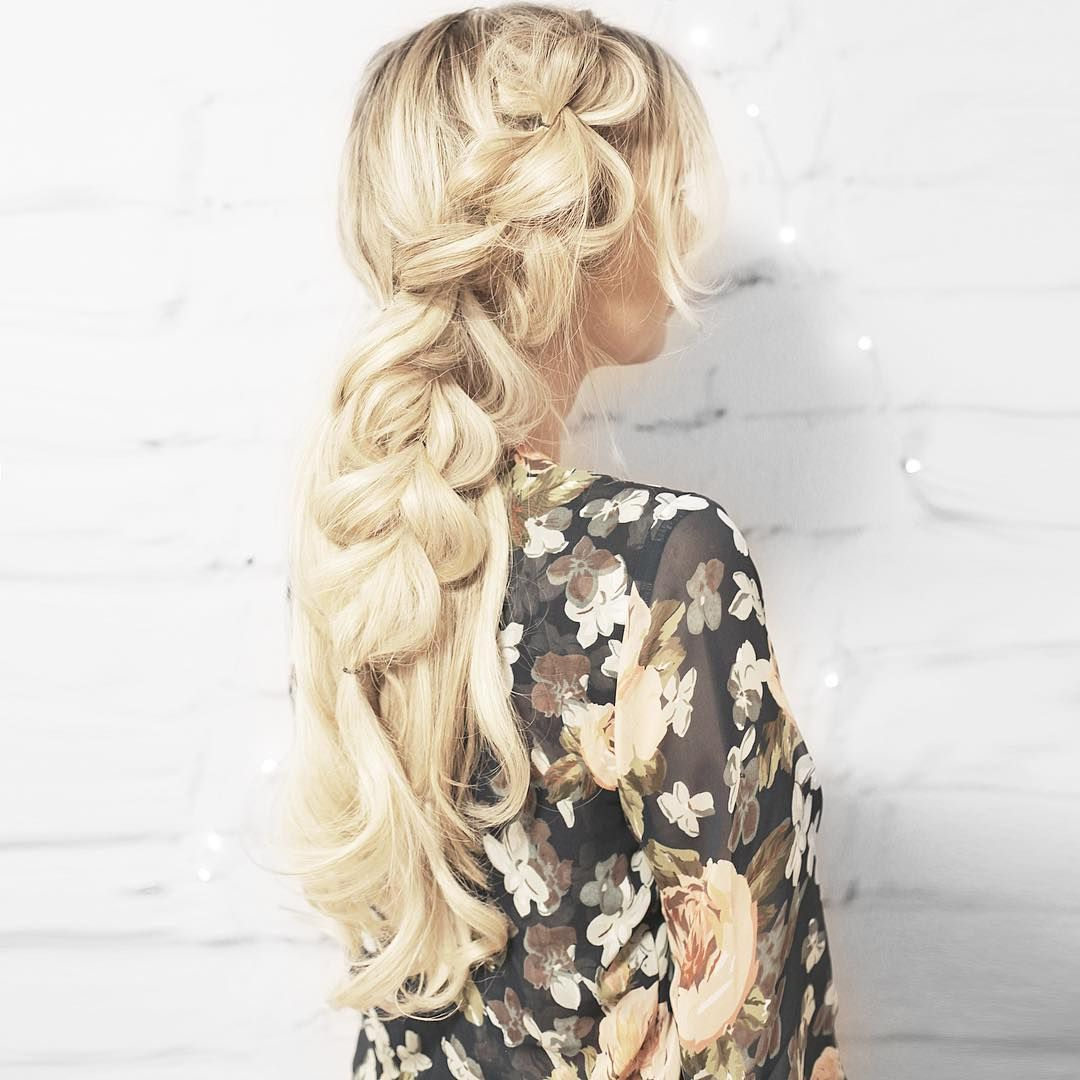 fancy accent braid pretty hairstyles wedding hairstyle blonde hair ...