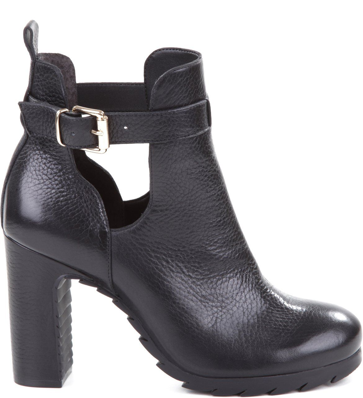 8b7fa8c90 Bota Couro Fivela Preta   Arezzo   Shoes em 2019   Shoes, Boots e ...