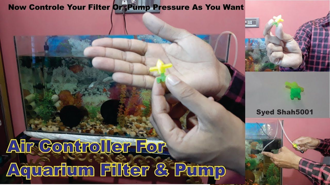 How To Reduce Aquarium Filter Speed controls Water Flow