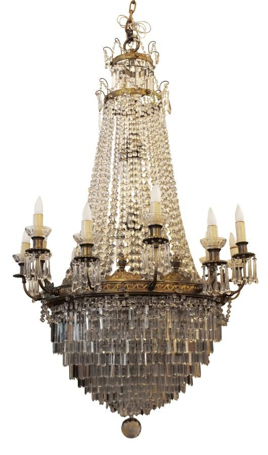 1927 large louis xvi style crystal chandelier architectural salvage online store buy altered antiques