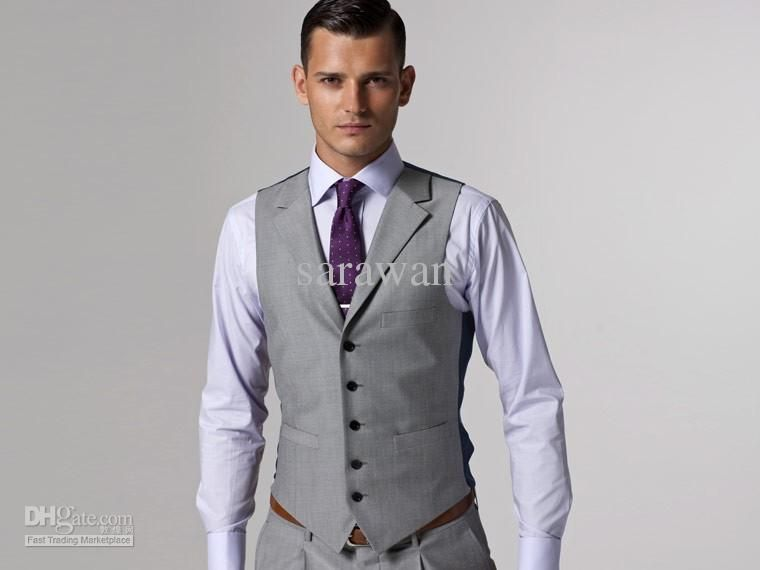 Mens Wedding Suits Grey - Ocodea.com