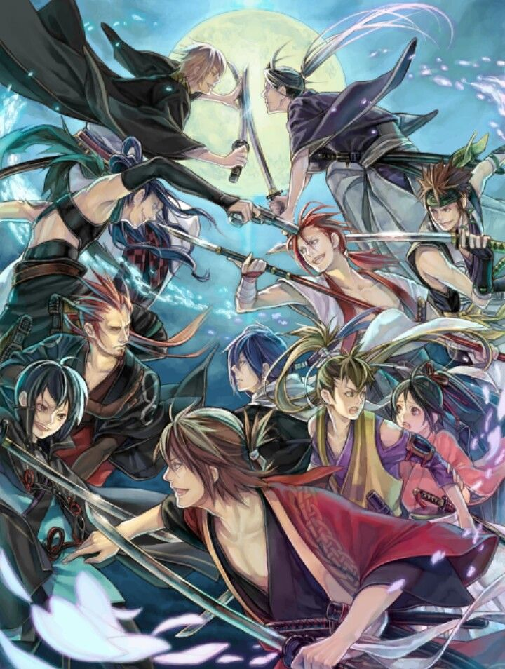 Hakuouki where fangirls/boys die due to excessive