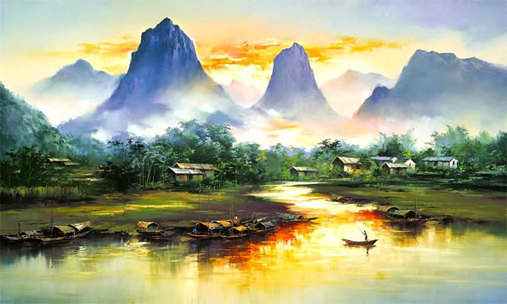 Found On Bing From Pixshark Com Landscape Paintings Beautiful