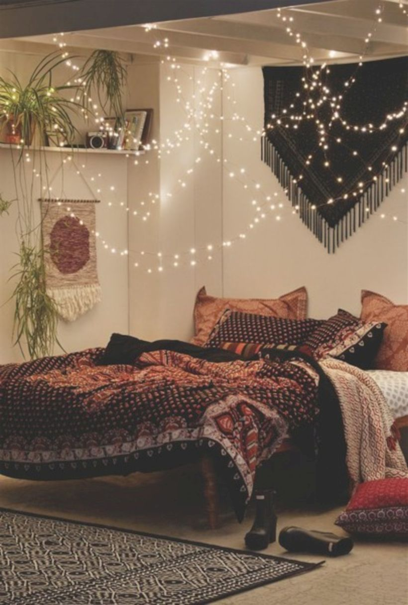 63 cozy bohemian teenage girls bedroom ideas (with images) | bohemian bedroom decor, room decor