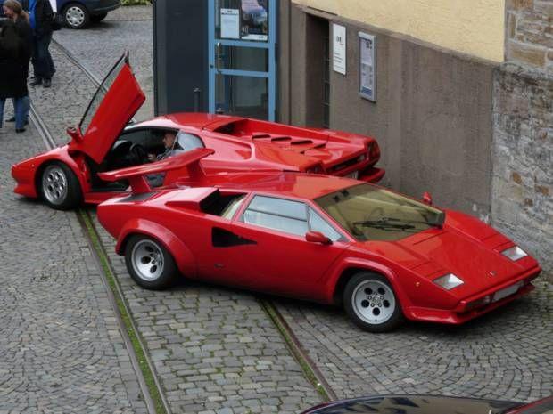 Das legendäre Keil-Design  Lamborghini Countach, Diablo
