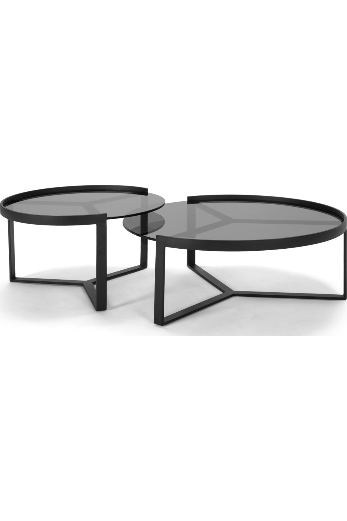Aula Nesting Coffee Table Black And Grey Nesting Coffee Tables Coffee Table Wood Coffee Table